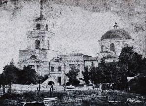 Собор Різдва Пресвятої Богородиці,початок XX століття(центр села)