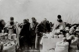 Радоница(мироносна неділя) центральне кладовище 50-ті роки